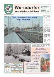 Kulturprogramm - Gemeinde Werndorf