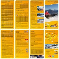 Winterfolder der Imster Bergbahnen 2012/13