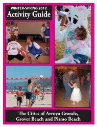 Winter/Spring 2012 Activity Guide - City of Arroyo Grande
