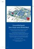 Gesundheitspark: Eine Vision wird Wirklichkeit - Universitätsklinikum ... - Seite 6