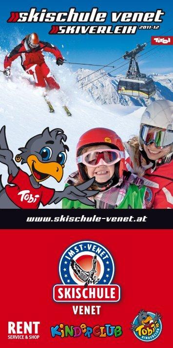 ab 2 Jahre - Skischule venet