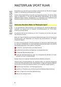 Masterplan Sport Ruhr - Metropole Ruhr - Seite 4