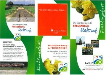 Die Samtgemeinde - Samtgemeinde Fredenbeck