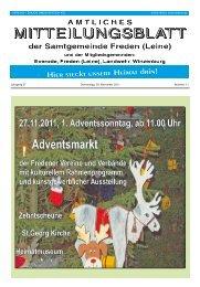 Jahrgang 37 Donnerstag, 03. November 2011 Nummer 11