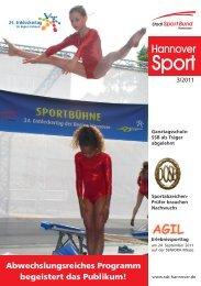 SSB Umschlag - Stadtsportbund Hannover e.V.