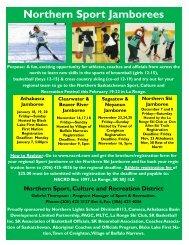 Northern Sport Jamborees - Northern Sport, Culture & Recreation ...