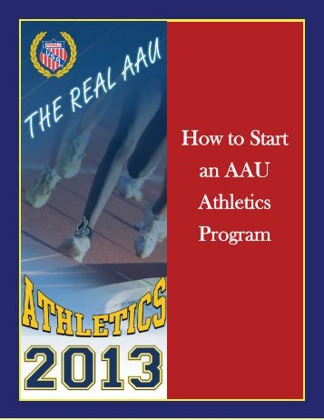 How to Start an AAU Athletics Program
