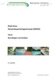 Teil A Grundlagen und Analyse - Stadt Aarau
