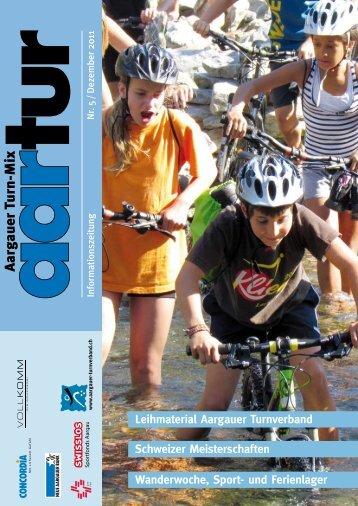 Ausgabe 05_2011 - Aargauer Turnverband