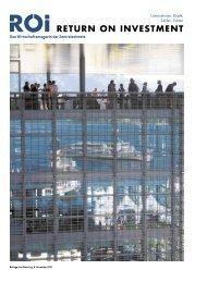 Das Wirtschaftsmagazin der Zentralschweiz - ITZ