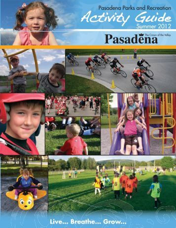 Summer 2012 Activity Guide - Town of Pasadena