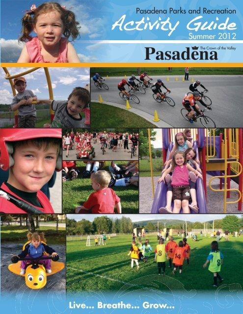 Summer 2012 Activity Guide - Town of Pasadena