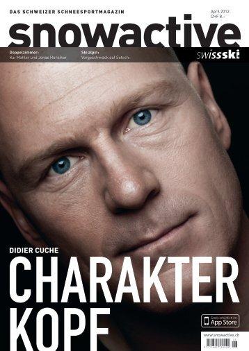 Didier Cuche: Charakter-Kopf» (4.7 MB - Swiss-Ski