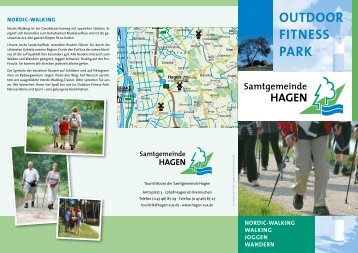 Flyer Outdoor-Fitness-Park Samtgemeinde Hagen