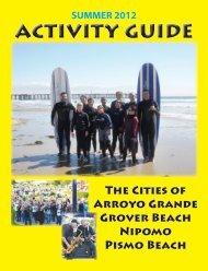 Summer 2012 Activity Guide - City of Arroyo Grande
