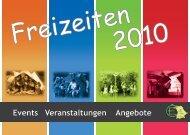 Freizeiten 2010 - EC-Bayern