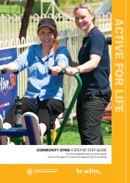 community gyms a step by step guide - Office for Recreation and ...
