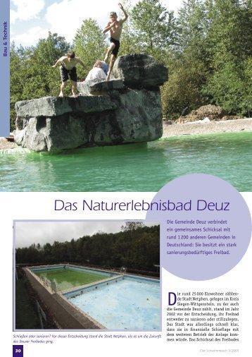 ST 2005-03.indd - Naturerlebnisbad Deuz
