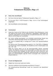 Satzung Freibadverein Neustadt a. Rbge. eV - Freibad Neustadt a ...