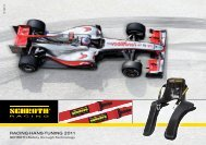 RACING-HANS-TUNING 2011 - Schroth Safety Products GmbH