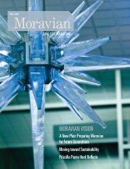 MORAVIAN VISION - Moravian College