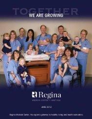 Regina Medical Center's Annual Report