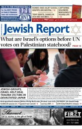 What are Israel's options before UN votes on - South African Jewish ...