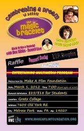 PRODUCTION CO: Make A Film Foundation Location: Gratz College ...