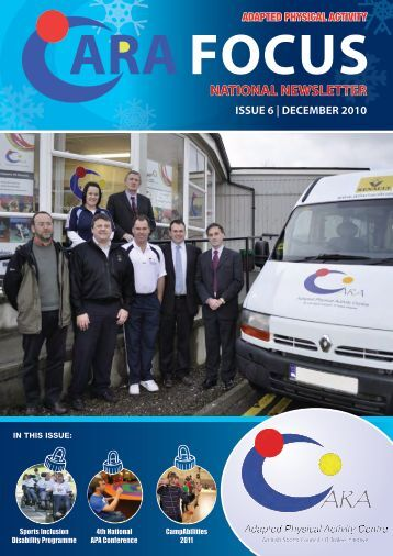 issue 6 | december 2010 national newsletter - Get Ireland Active