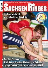 4 Aus den Vereinen - Ringer-Verband Sachsen eV