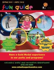 2012-2013 Fun Guide - City of Columbus, Indiana