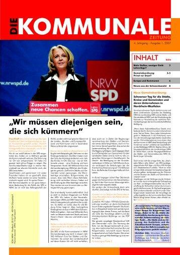 2007-1 Kommunale - SGK NRW