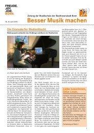 Bericht zur Dransdorfer MedienNacht u. a. - Ortsausschuss Bonn ...