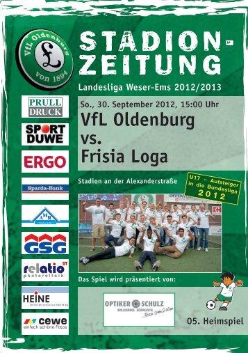 VfL Oldenburg vs. Frisia Loga