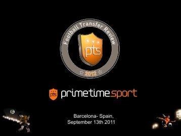Barcelona - prime time sport
