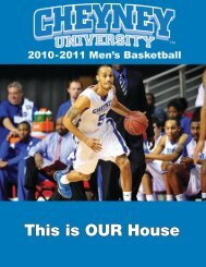 This is OUR House - Cheyney University of Pennsylvania