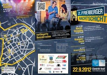 Programm 2. Freiberger Nachtschicht