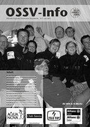OSSV Info Nr. 3 - Juni 2003