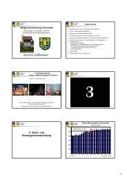 Praesentation Buergerversammlung 2009 - Varenrode