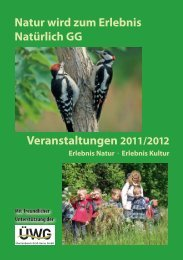 Natur wird zum Erlebnis Natürlich GG - NABU Rhein-Main