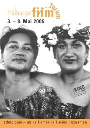 FIFO/Katalog def. 2005 - freiburger film forum