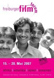 def.FIFO/Katalog 30.4. 2007 - freiburger film forum