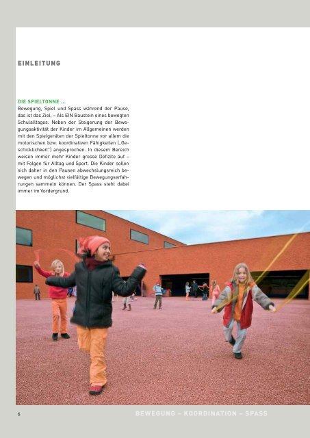 "Lehrerbroschüre: ""Bewegte Pause"" - Fit-4-Future"
