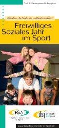 organisationen - Freiwilligendienste im Sport