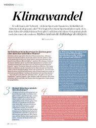 """""""Klimawandel"""", 12 Fragen zum Thema Schwitzen - Dr. Kurt A ..."""