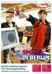 SPORT IN BERLIN - Landessportbund Berlin