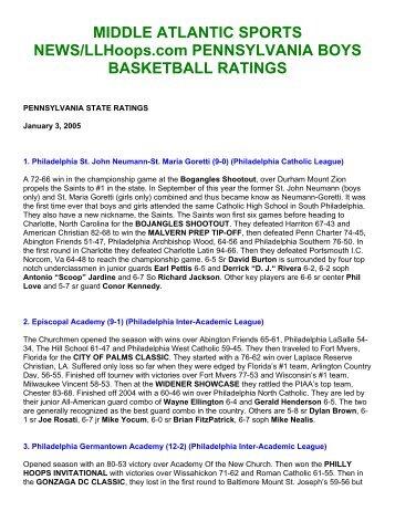 Middle Atlantic Sports News LLHoops.com ... - e-PA Sports
