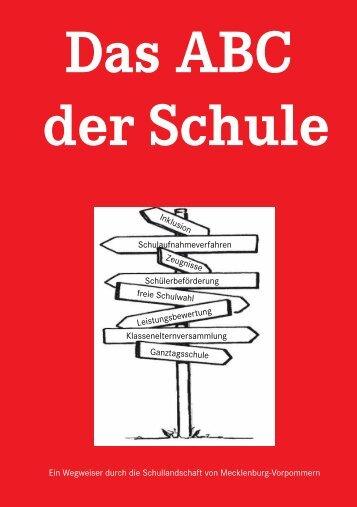 Ein Wegweiser durch die Schullandschaft von Mecklenburg ...