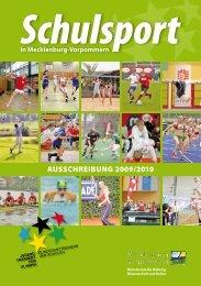 Ausschreibung 2009/2010 - Bildungsserver Mecklenburg ...