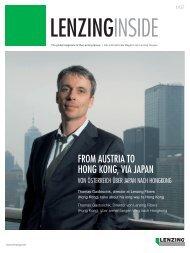 Von Österreich über Japan nach Hongkong - Lenzing
